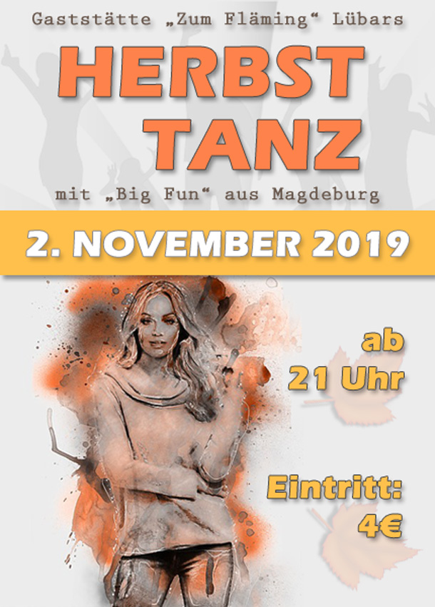 Herbsttanz am 02. November 2019, in Lübars